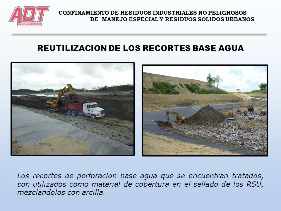 REUTILIZACION DE LOS RECORTES BASE AGUA