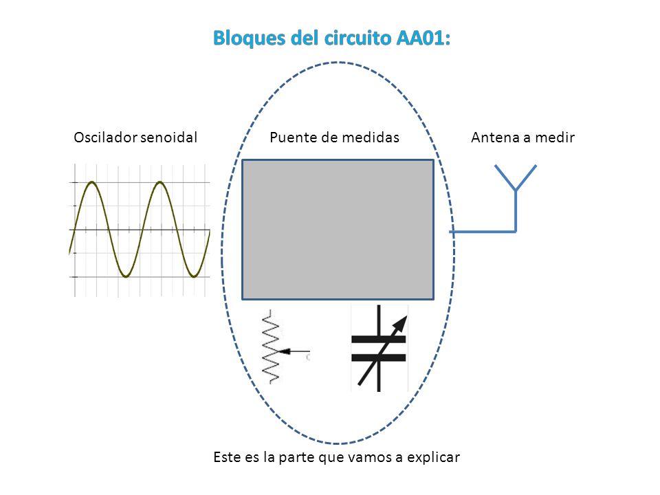 Bloques del circuito AA01: