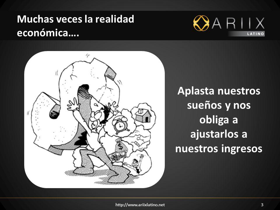 Muchas veces la realidad económica….
