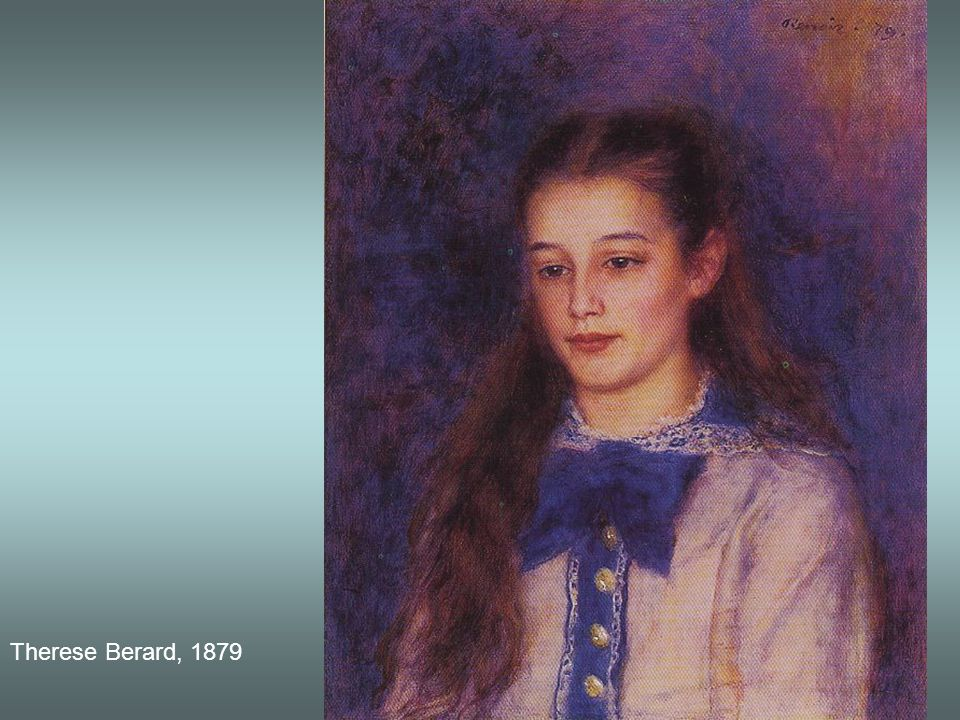 Therese Berard, 1879
