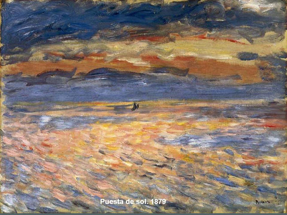 Puesta de sol. 1879