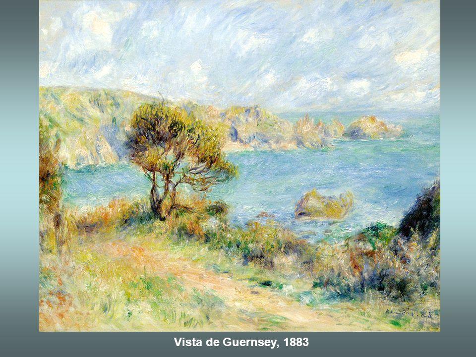 Vista de Guernsey, 1883