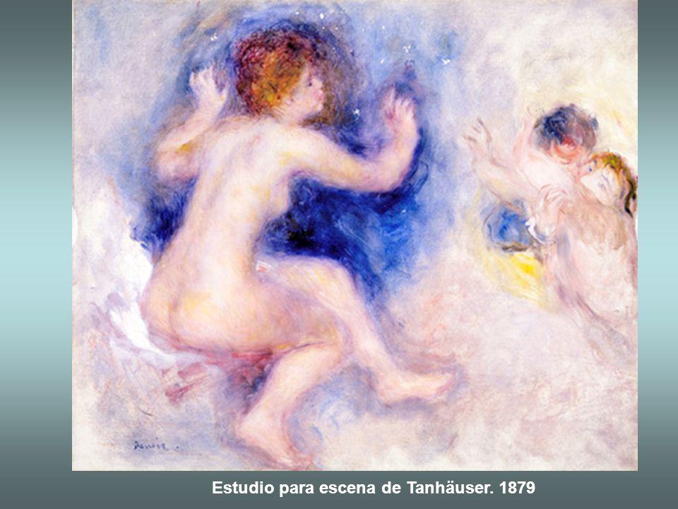 Estudio para escena de Tanhäuser. 1879