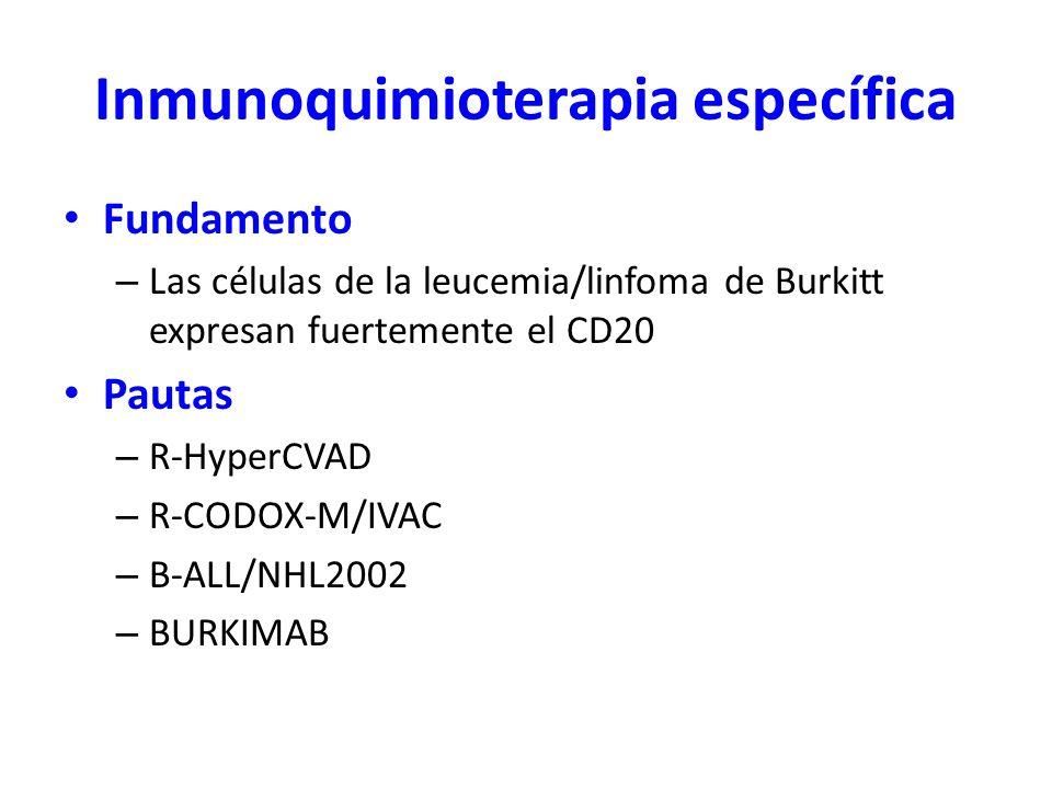 Inmunoquimioterapia específica