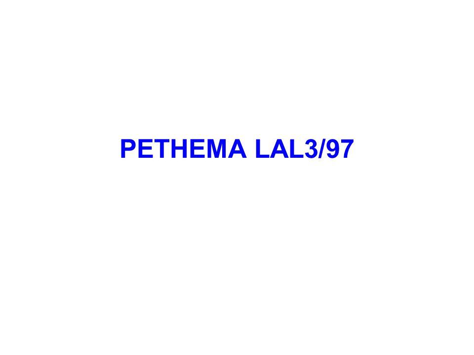 PETHEMA LAL3/97