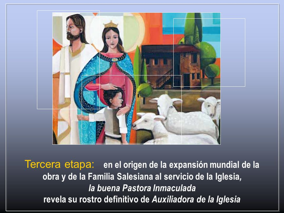 la buena Pastora Inmaculada