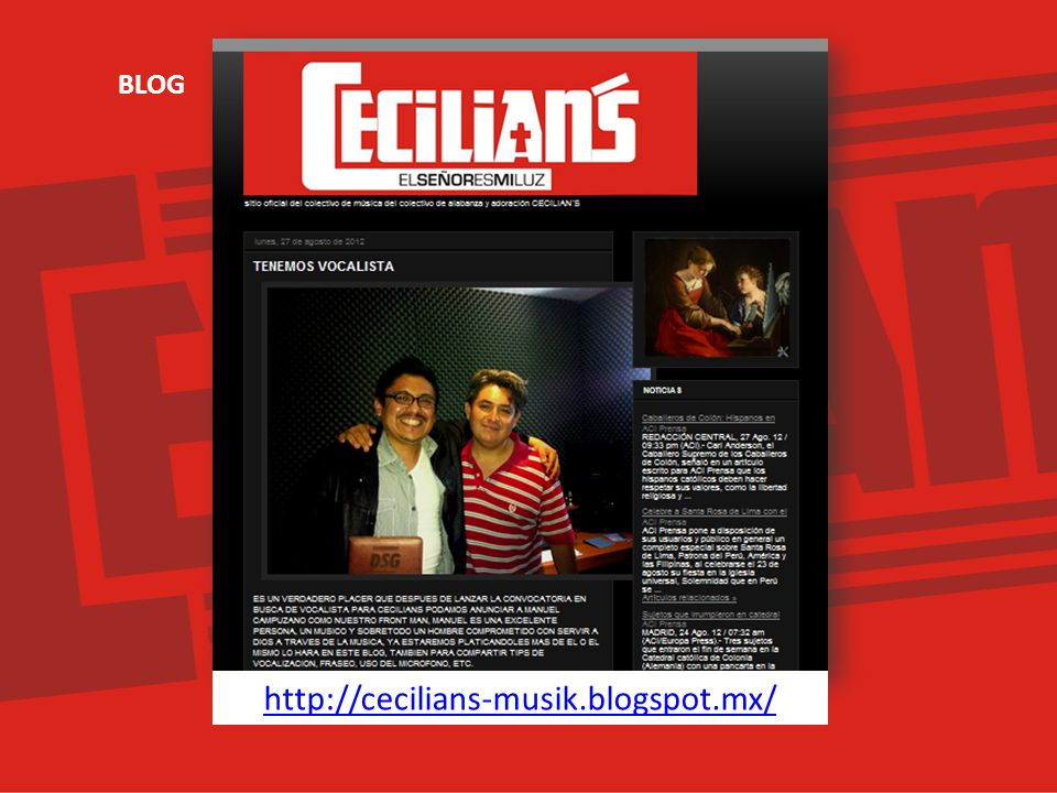 BLOG http://cecilians-musik.blogspot.mx/