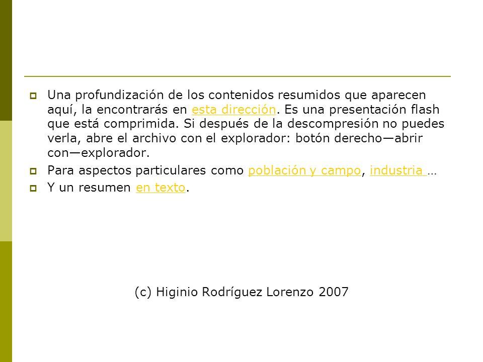 (c) Higinio Rodríguez Lorenzo 2007