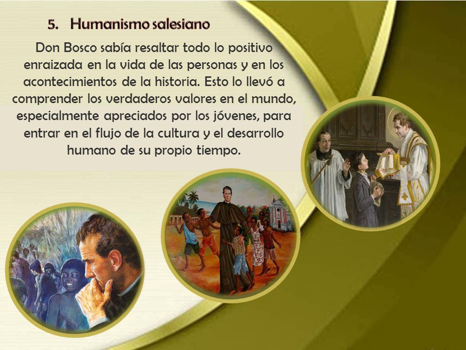 5. Humanismo salesiano