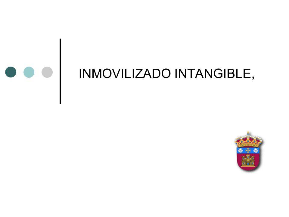 INMOVILIZADO INTANGIBLE,