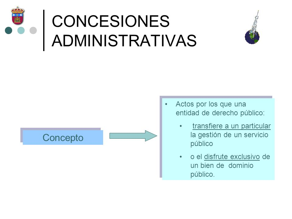 CONCESIONES ADMINISTRATIVAS