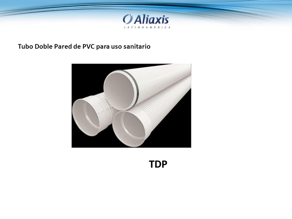 Tubo Doble Pared de PVC para uso sanitario