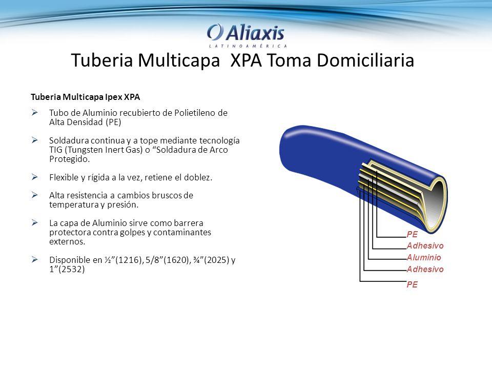 Tuberia Multicapa XPA Toma Domiciliaria
