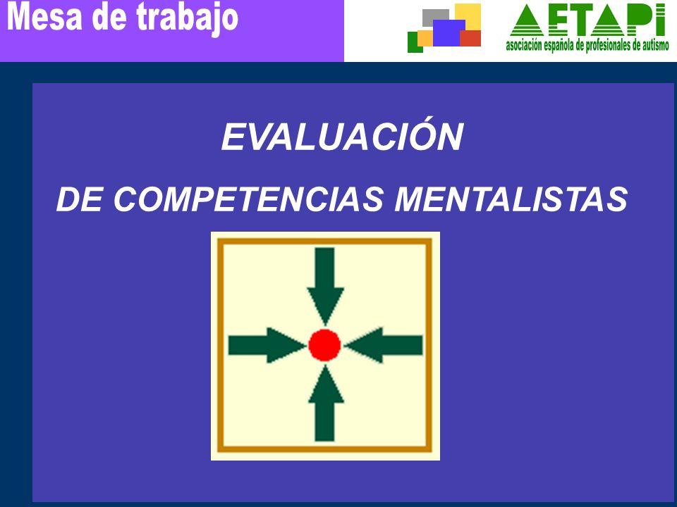 DE COMPETENCIAS MENTALISTAS