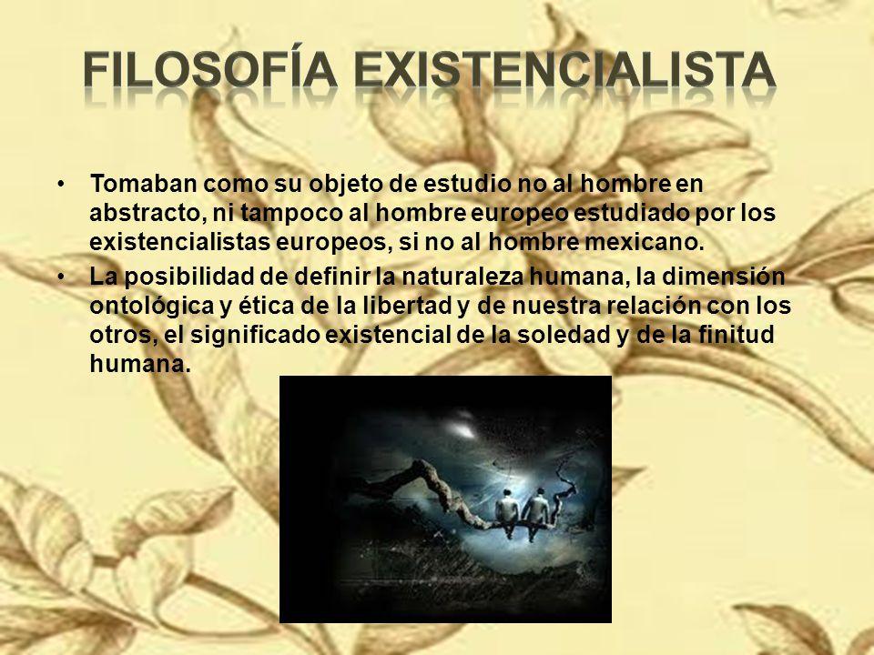 Filosofía existencialista