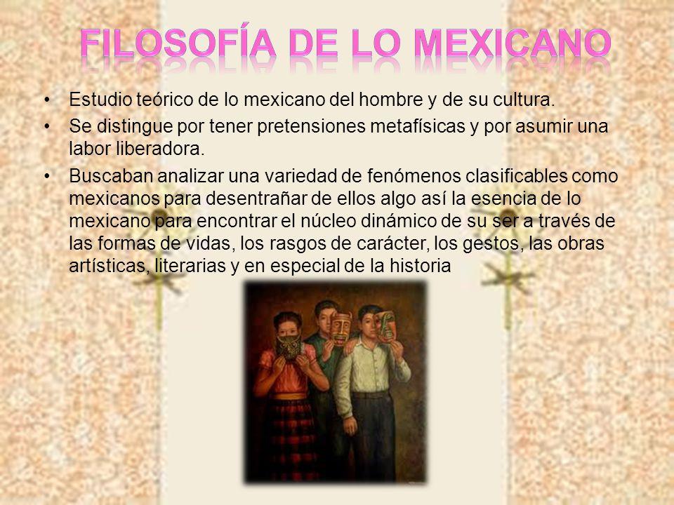 Filosofía de lo mexicano