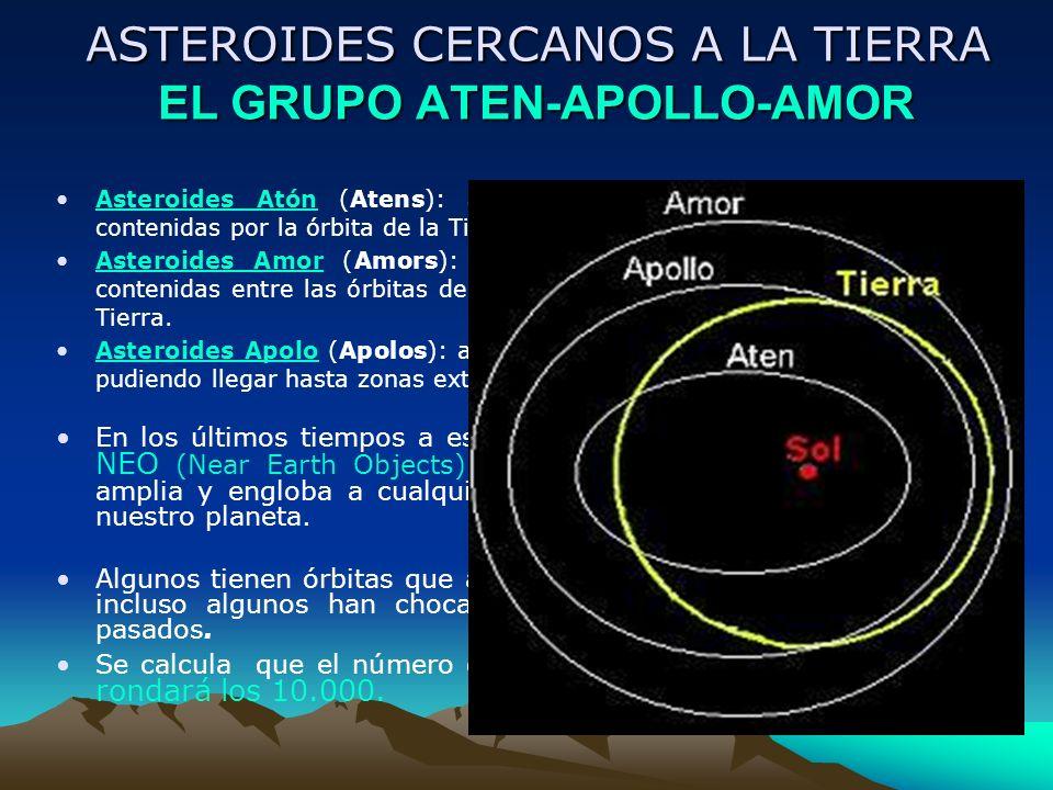ASTEROIDES CERCANOS A LA TIERRA EL GRUPO ATEN-APOLLO-AMOR