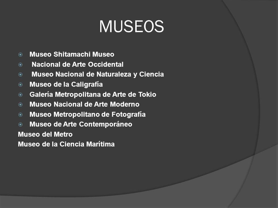MUSEOS Museo Shitamachi Museo Nacional de Arte Occidental