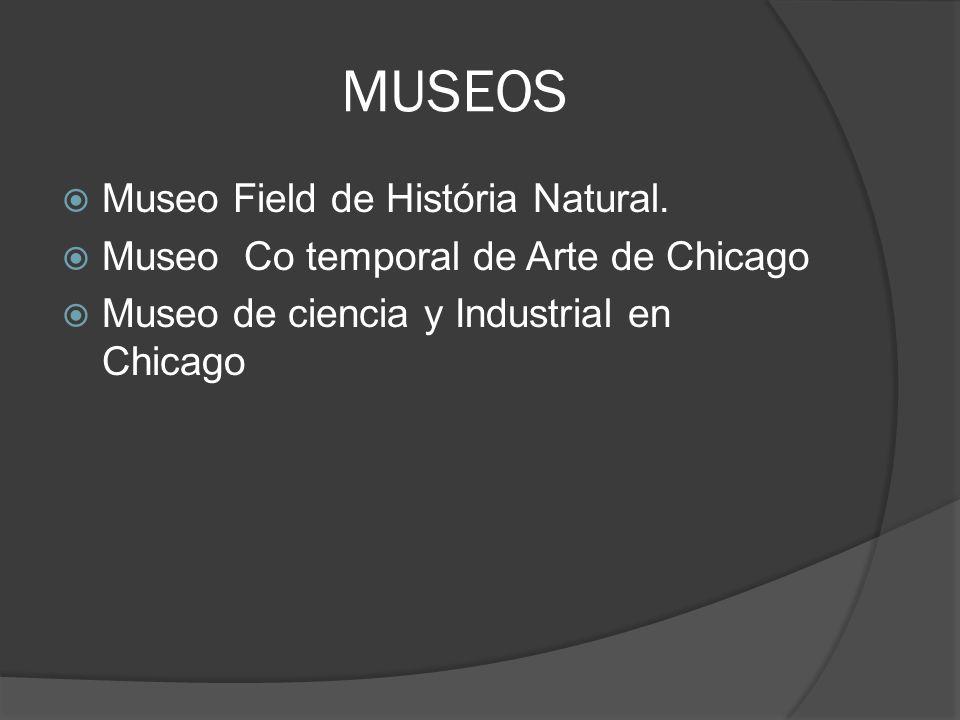 MUSEOS Museo Field de História Natural.