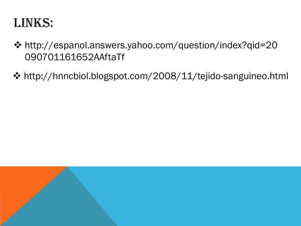Links: http://espanol.answers.yahoo.com/question/index qid=20 090701161652AAftaTf.