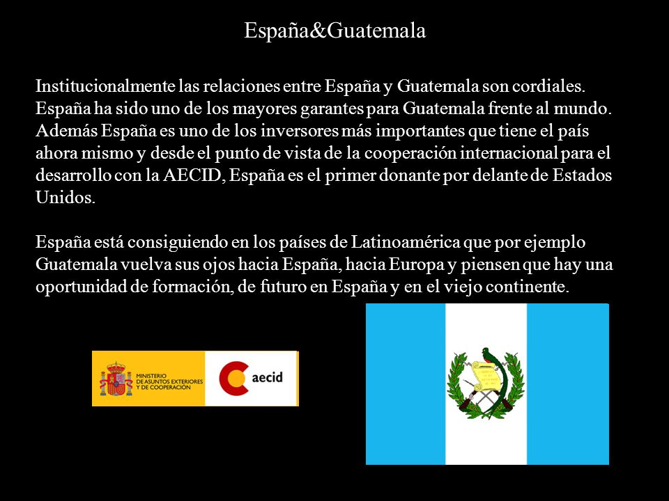 España&Guatemala