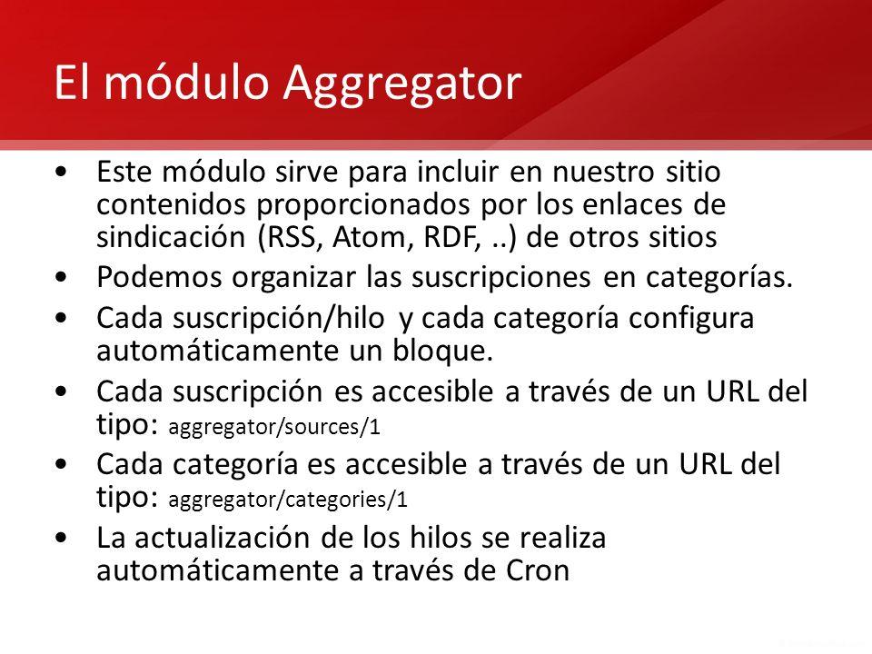 El módulo Aggregator