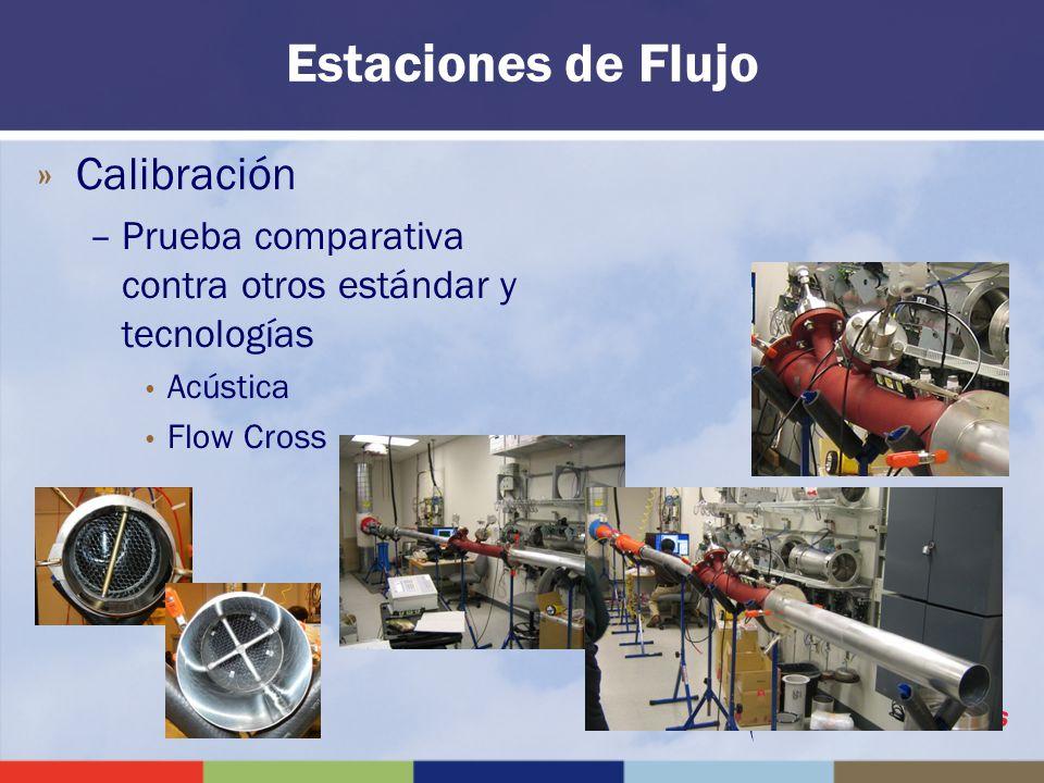 Estaciones de Flujo Calibración