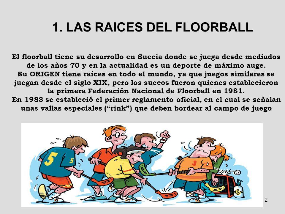 1. LAS RAICES DEL FLOORBALL