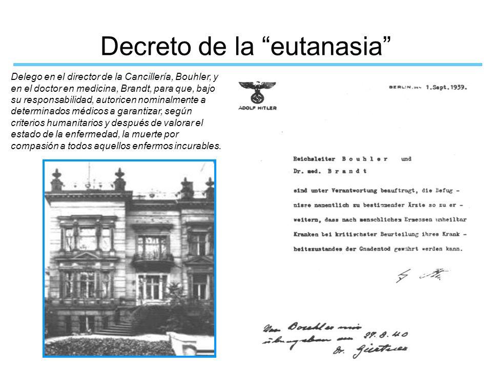 Decreto de la eutanasia