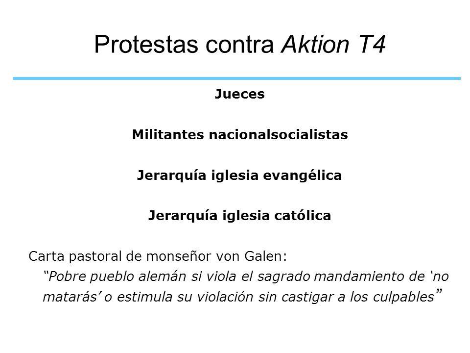 Protestas contra Aktion T4