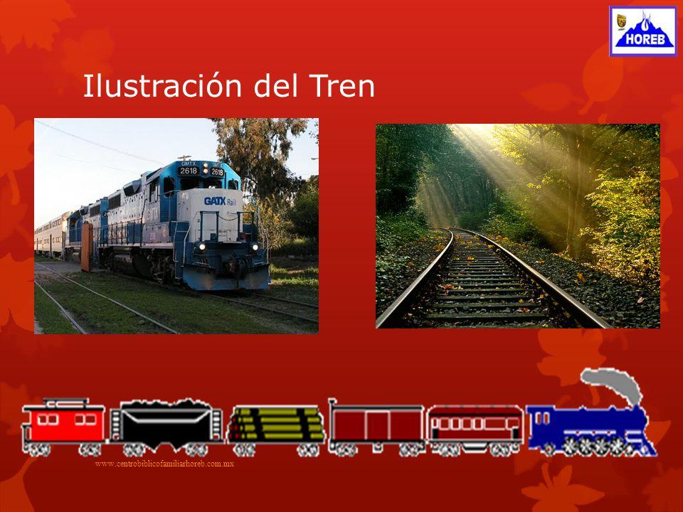 Ilustración del Tren www.centrobiblicofamiliarhoreb.com.mx