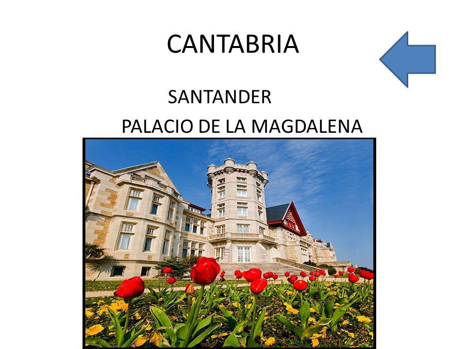 CANTABRIA SANTANDER PALACIO DE LA MAGDALENA