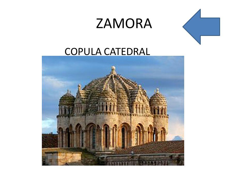 ZAMORA COPULA CATEDRAL