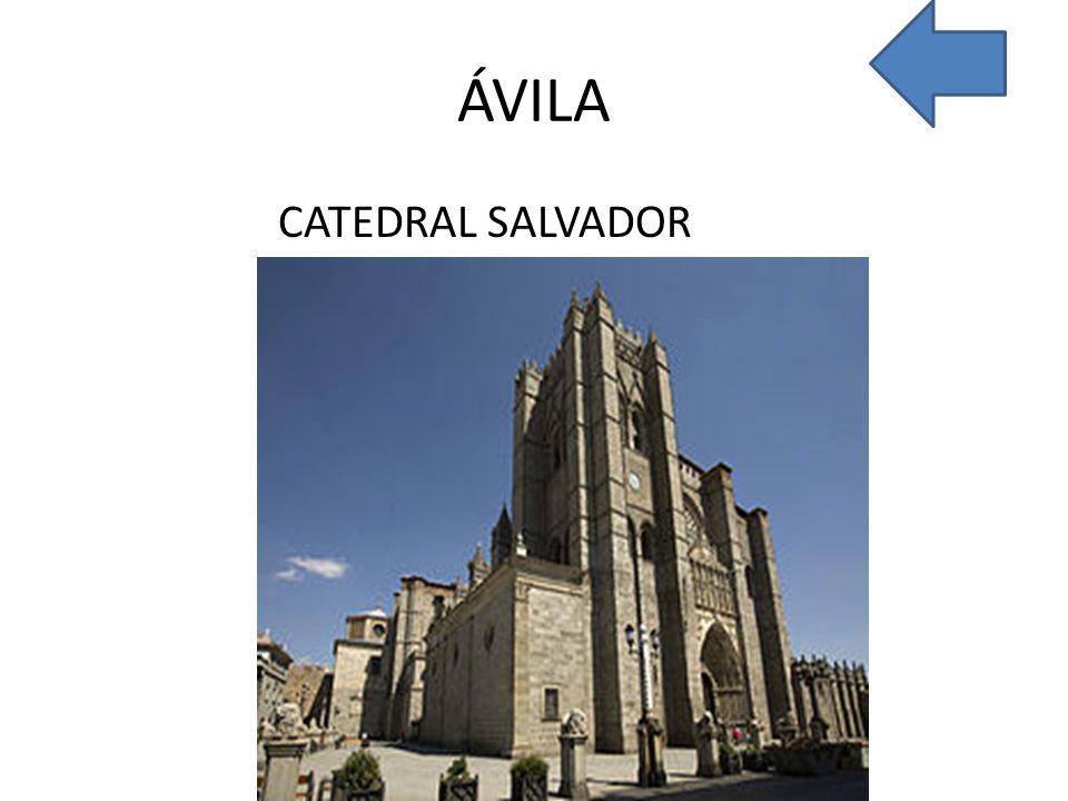 ÁVILA CATEDRAL SALVADOR