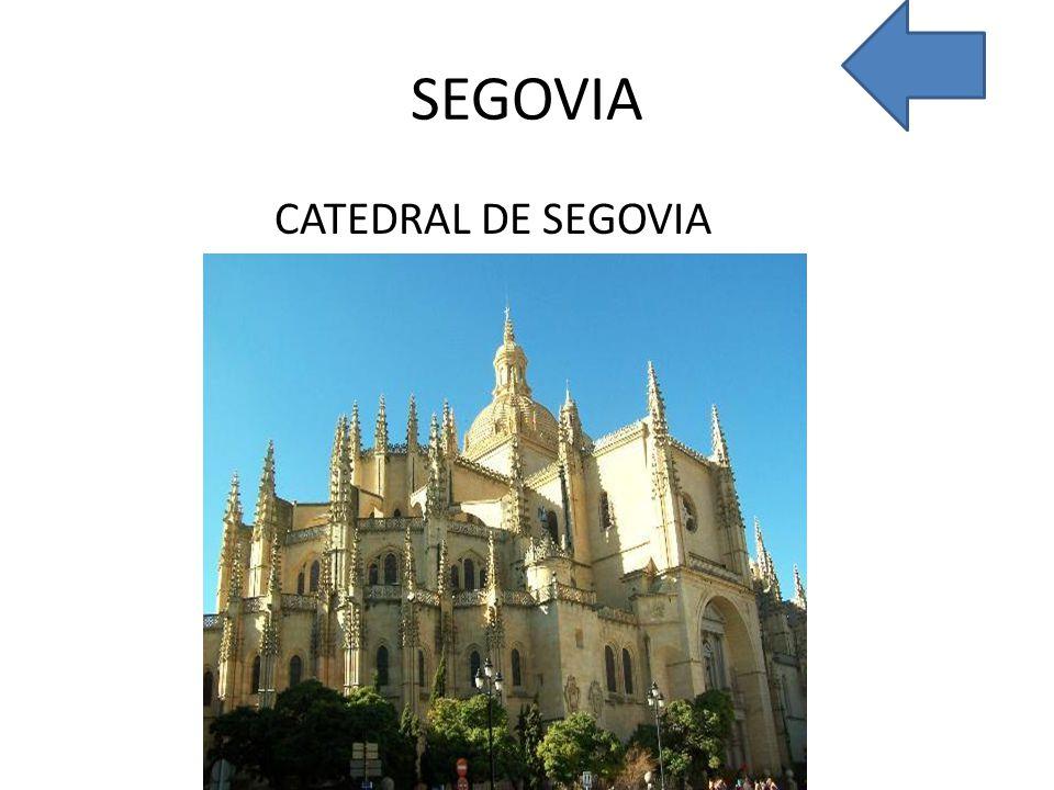 SEGOVIA CATEDRAL DE SEGOVIA