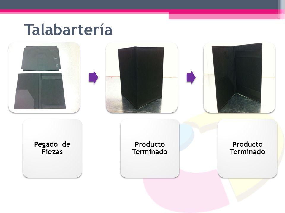 Talabartería Pegado de Piezas Producto Terminado
