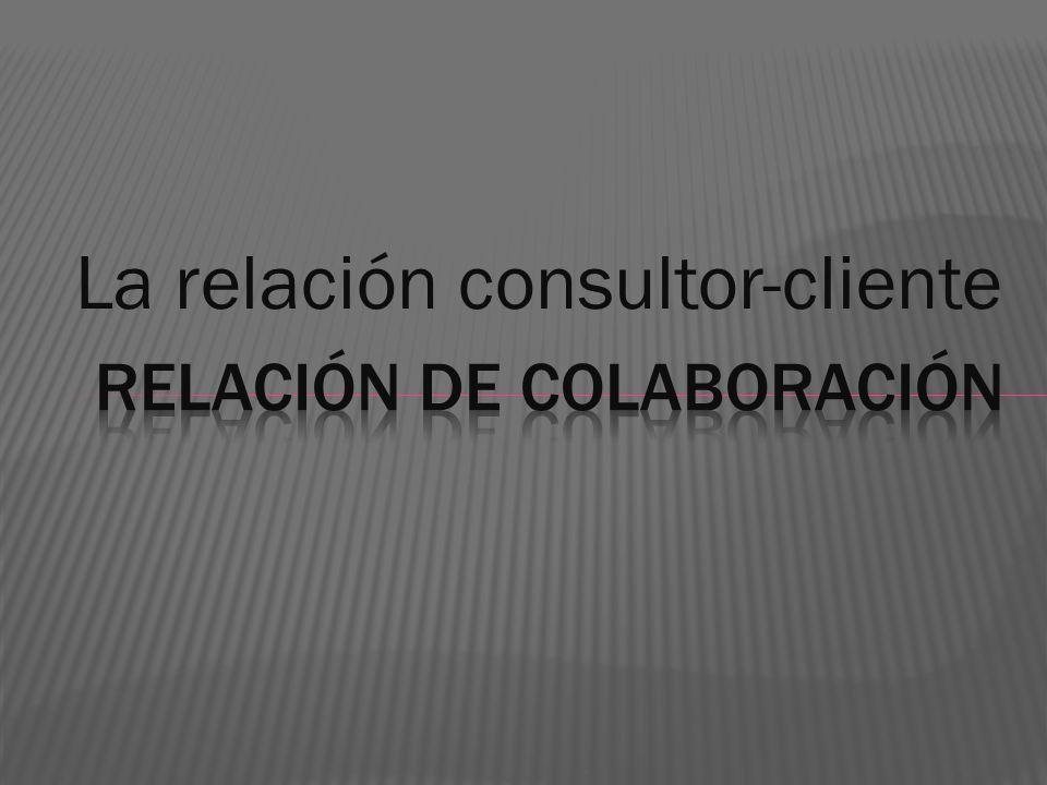 Relación de colaboración