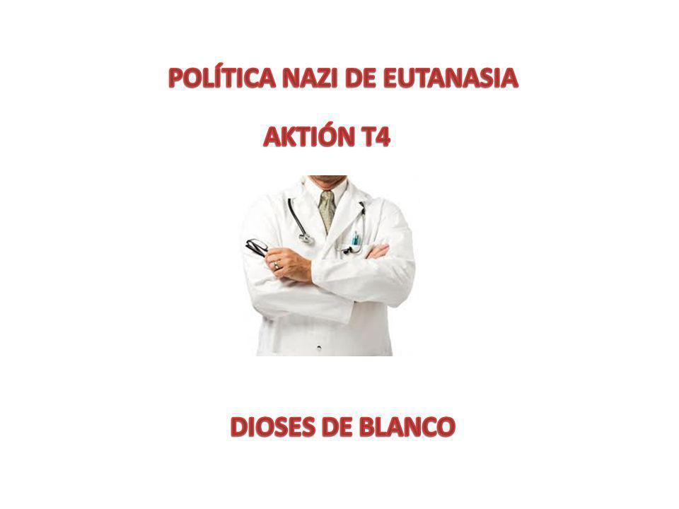 POLÍTICA NAZI DE EUTANASIA