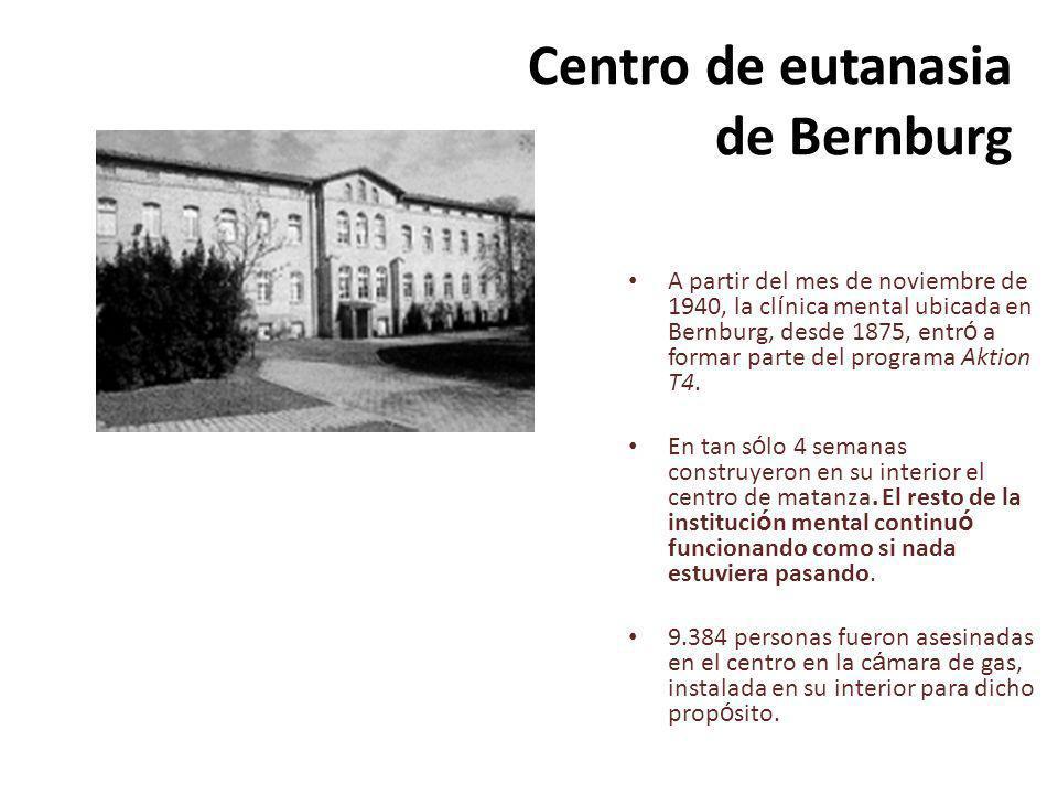 Centro de eutanasia de Bernburg