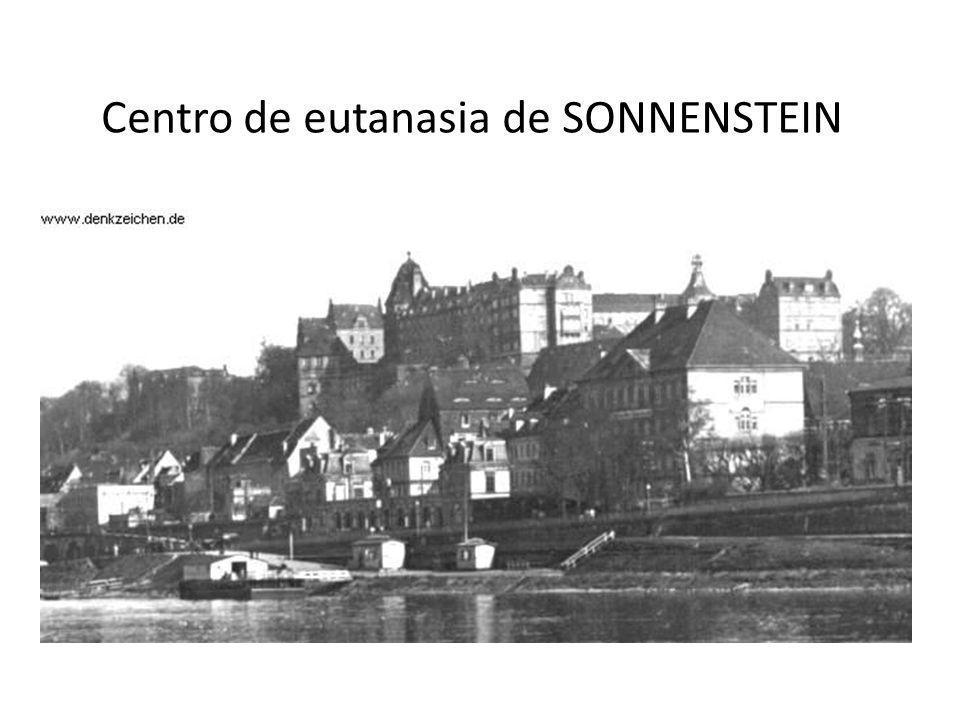 Centro de eutanasia de SONNENSTEIN
