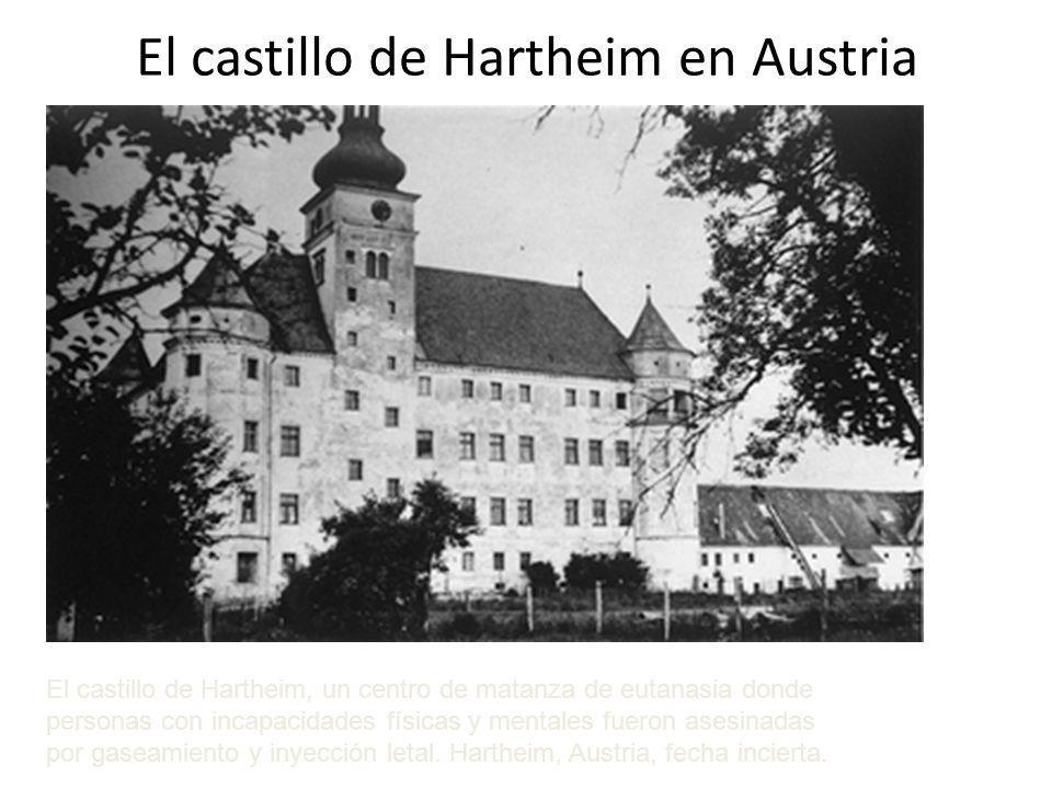 El castillo de Hartheim en Austria