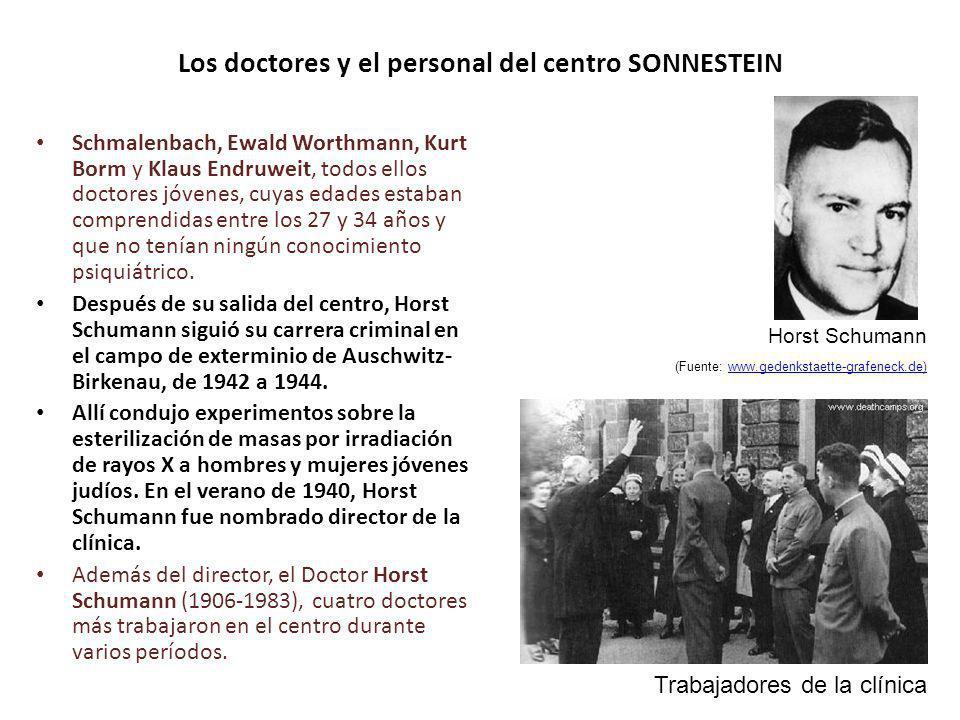 Los doctores y el personal del centro SONNESTEIN