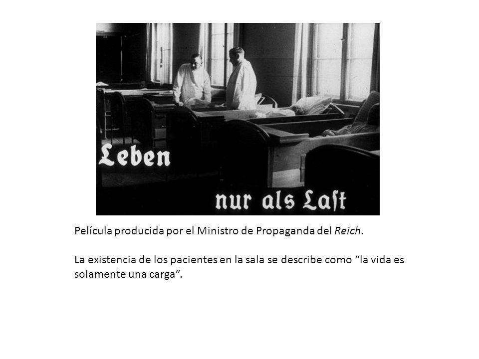 Película producida por el Ministro de Propaganda del Reich
