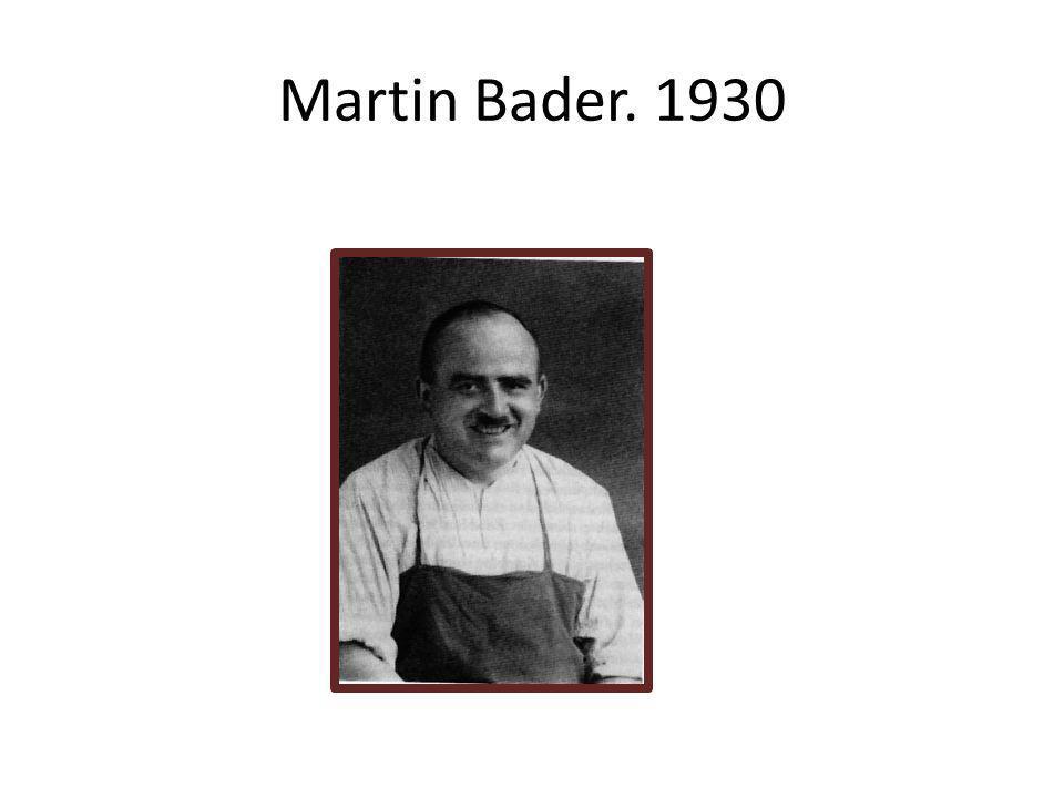 Martin Bader. 1930