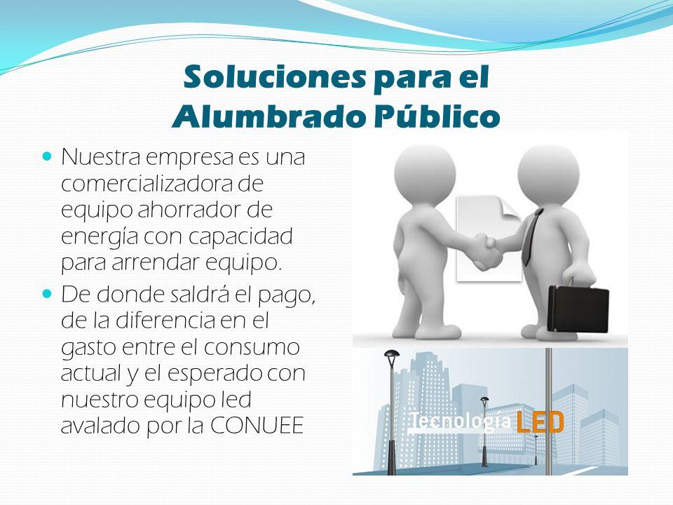 Soluciones para el Alumbrado Público