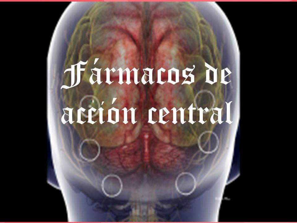Fármacos de acción central
