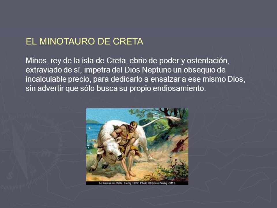 EL MINOTAURO DE CRETA