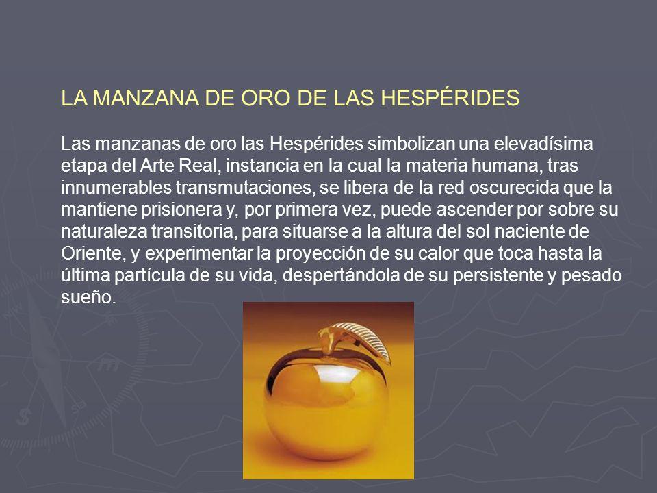LA MANZANA DE ORO DE LAS HESPÉRIDES