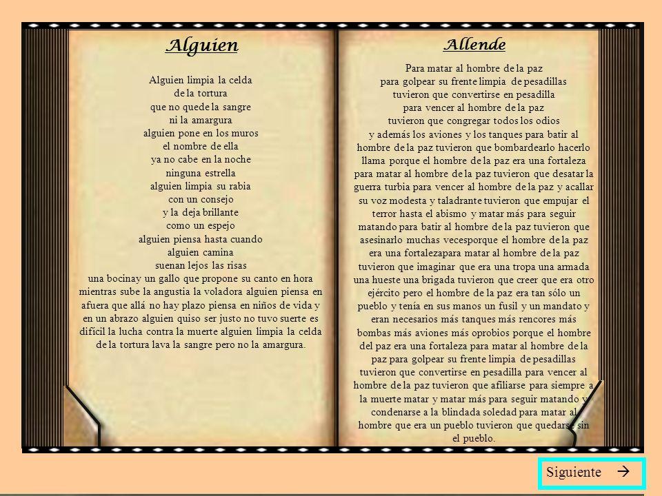 Alguien Allende Siguiente 