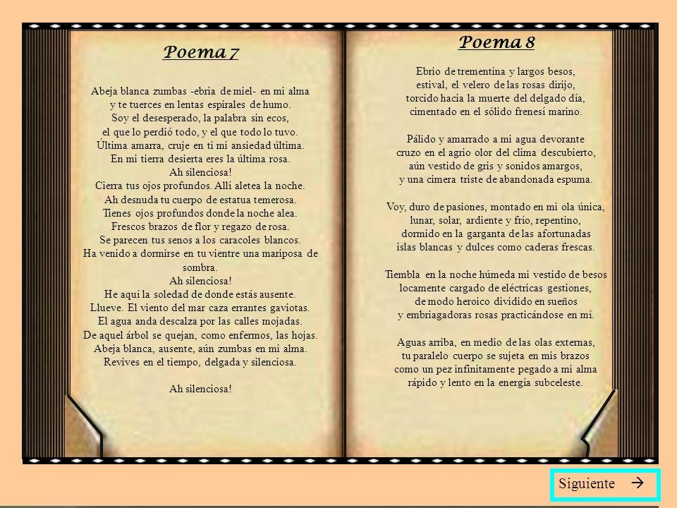 Poema 8 Poema 7 Siguiente 